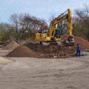 Erdarbeiten, Aufbereitung Baugrubenaushub